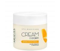 Aravia Professional Aravia Tropical Cocktail Cream-Paraffin Крем-парафин для парафинотерапии с маслами лимона и виноградных косточек 300 мл