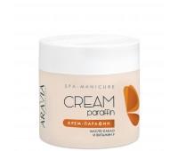 Aravia Professional Aravia Creamy Chocolate Cream-Paraffin Крем-парафин для парафинотерапии с маслом какао и витамином F  300 мл