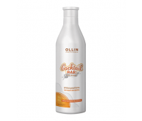 Ollin Professional, Cocktail Bar Egg Cocktail Shampoo Крем-шампунь для волос Яичный коктейль 500 мл