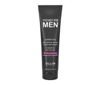 Ollin Professional, Ollin Premier For Men Shampoo Hair Growth Stimulating - Шампунь для роста волос стимулирующий 250 мл
