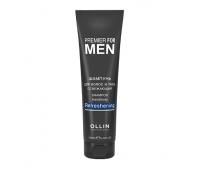 Ollin Professional, Ollin Premier For Men Shampoo Hair&Body - Шампунь для волос и тела освежающий 250 мл