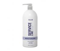 Ollin Professional, Ollin Service Line Moisturizing Balsam - Увлажняющий бальзам для волос 1000 мл