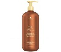 Schwarzkopf Oil Ultime Oil-in-Shampoo - Шампунь для жестких и средних волос, 1000 мл