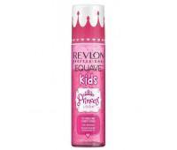 Revlon Equave Kids  Princess Conditioner - 2-х фазный кондиционер, облегчающий расчесывание с блестками 200мл