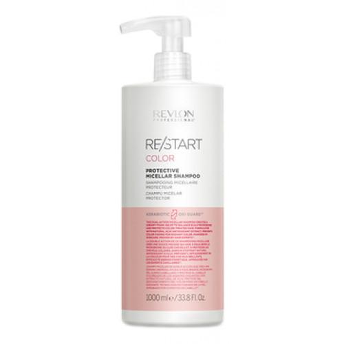 Revlon Professional ReStart Color Protective Micellar shampoo - Мицеллярный шампунь для окрашенных волос 1000 мл