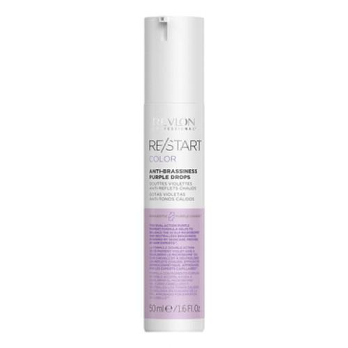 Revlon Professional ReStart Color Anti-Brassiness Purple Drops - Фиолетовые капли для усиления и поддержки холодных оттенков 50 мл